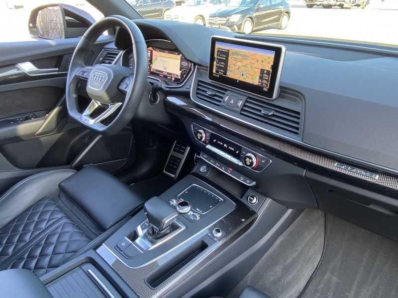 Audi Q5 2.0TFSI 252pk Quattro Black Optic Alle Opties! Lucht Tr.Haak Ruitleder Carbon Matrix Pano 20-Inch afbeelding 25