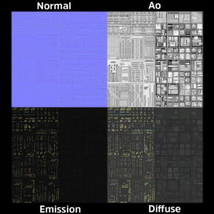 Emission map
