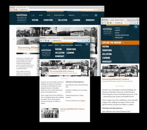 Museum of Australian Democracy website