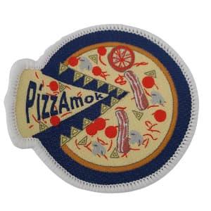 PizzaMok spejdermærke