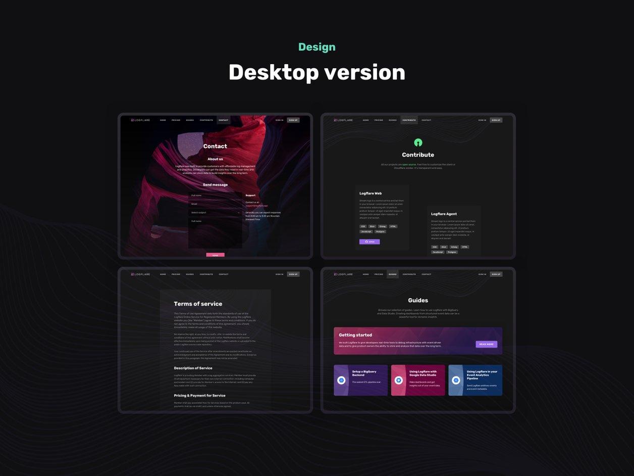 Prototyping - UI Design | Logflare