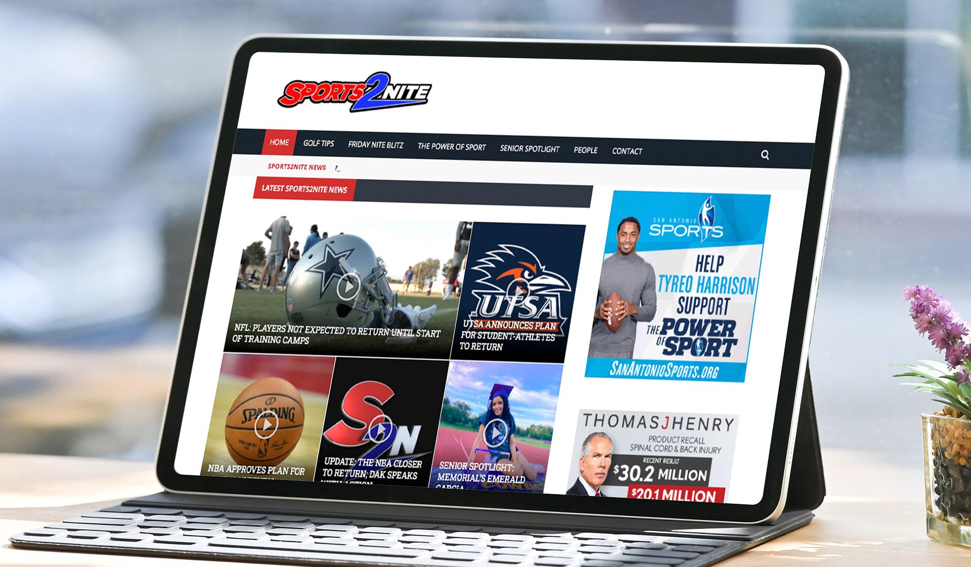 Sports2Nite Mockup