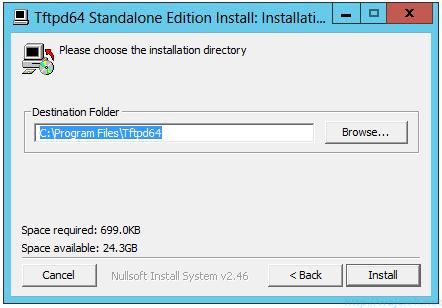 VMware vSphere Auto Deploy TFTPD64 - 3