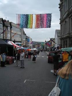market jew street on mazey day morning