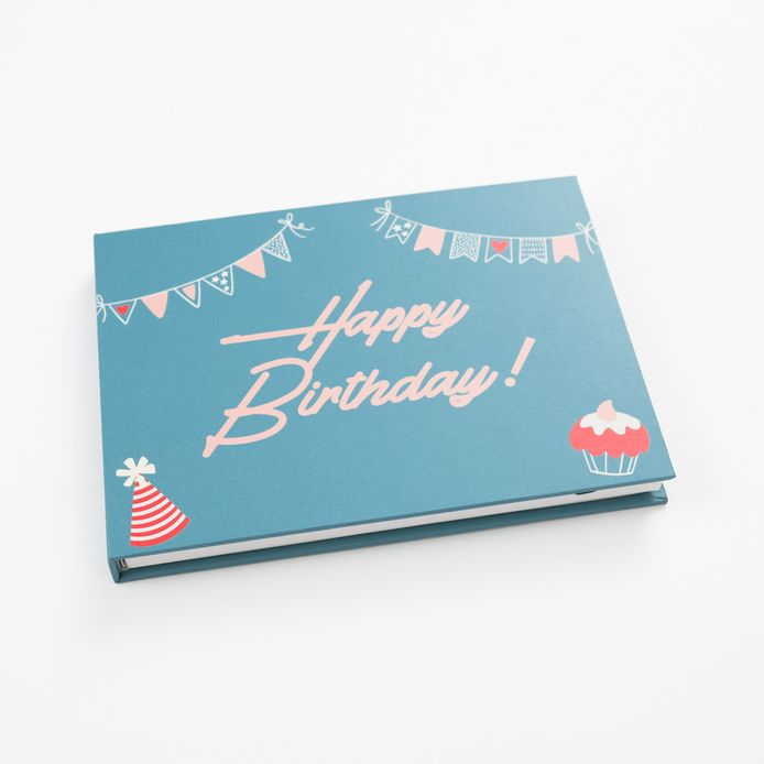 Heirloom book with birthday cover