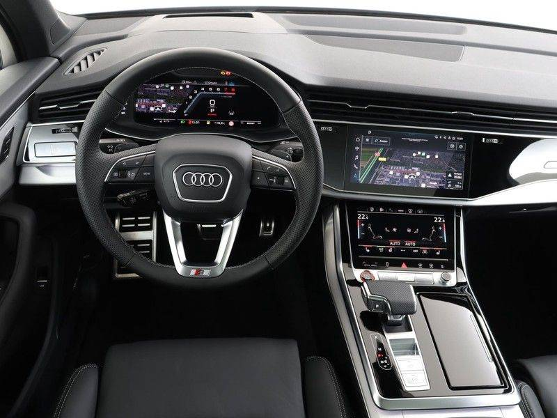 Audi Q7 4.0 TFSI SQ7 quattro 7p 507PK | S-Line | Pano.Dak | 360 Camera | B&O Sound | Keyless-Entry | S-Sportstoelen | Assistentie Tour-City-Parking | 7 Persoons afbeelding 3