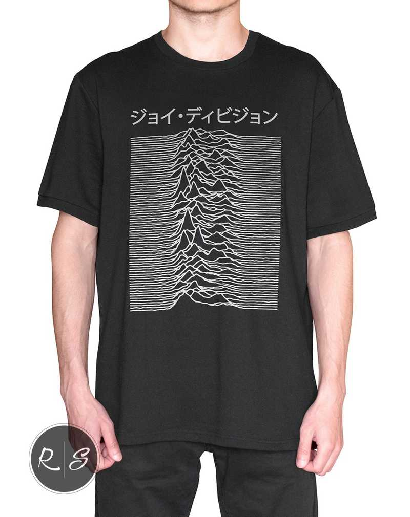 Japanese T Shirt – Joy Division Used on Unknown Pleasures