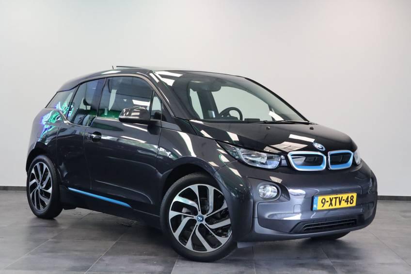 BMW i3 Basis Comfort Advance 22 kWh Marge Warmtepomp Navigatie Clima Cruise Panorama