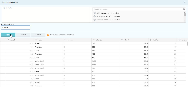 newvariable with Hadoop and Qlik