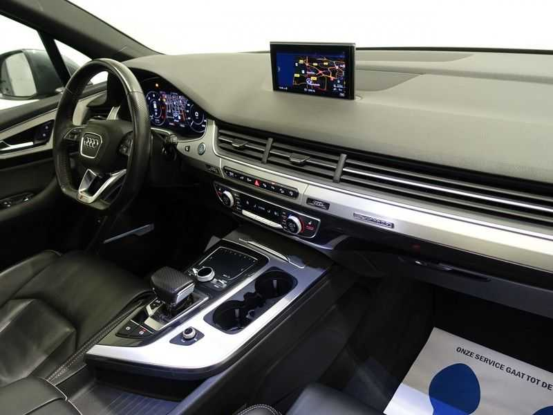 Audi Q7 3.0 TDI e-tron 374pk Quattro Sport S-line- Pano, Bose, Virtual Cockpit, Leer,  Full! afbeelding 17