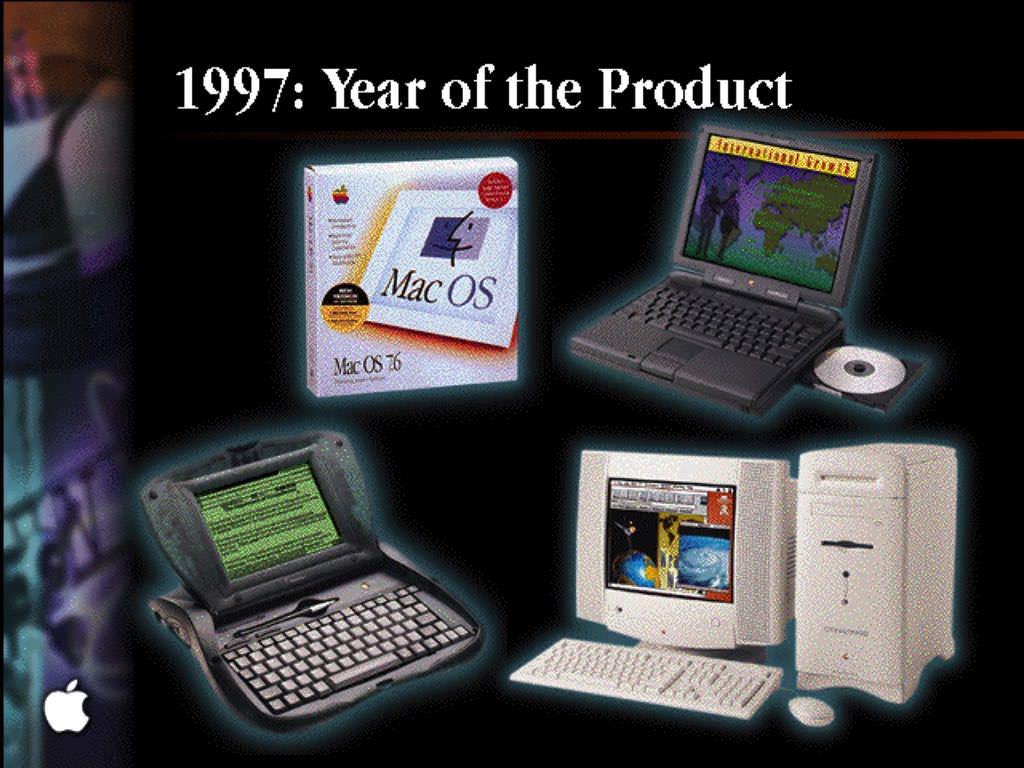 Exemple de Slide de la WWDC 1997