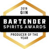 2019 Bartender Spirits Awards Producter of the Year award