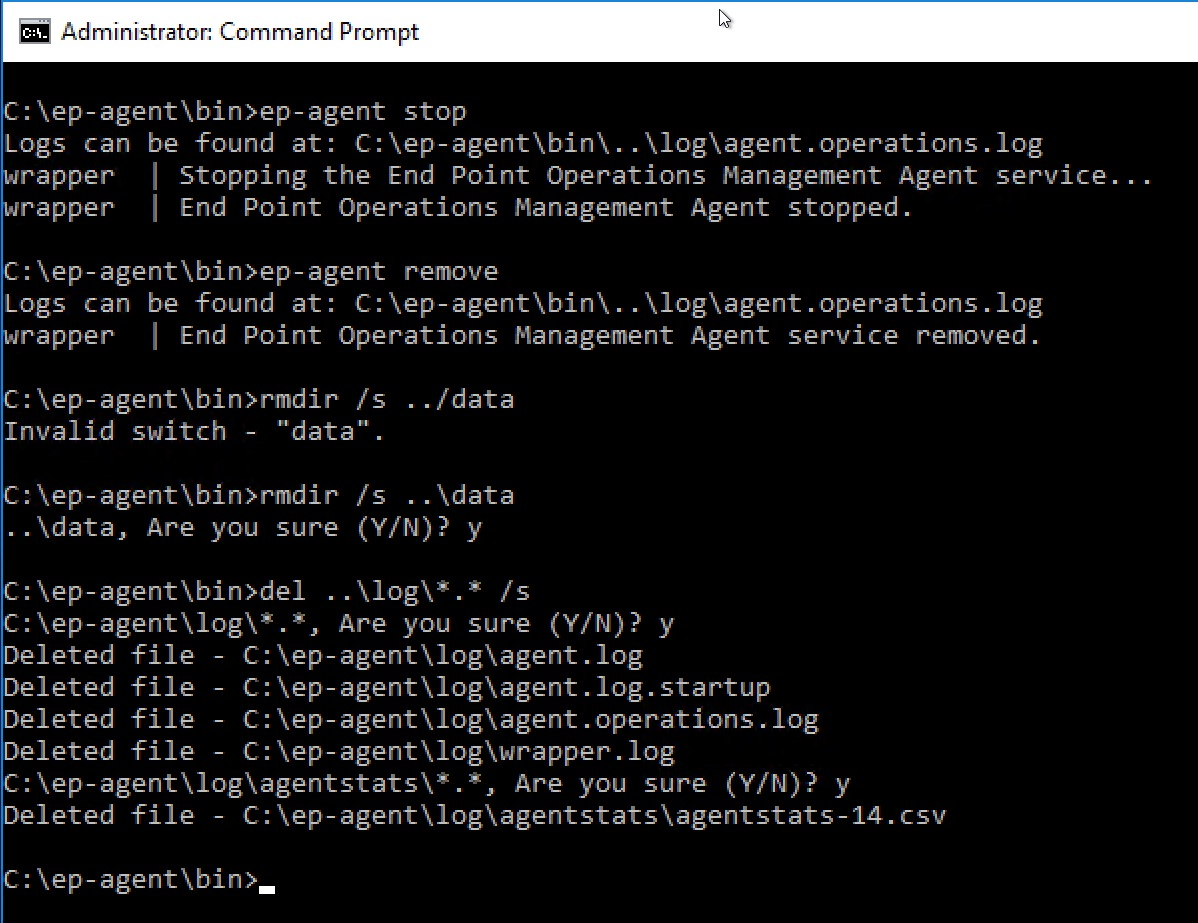 Agentstats how to deploy the vrops epops windows agent using microsoft