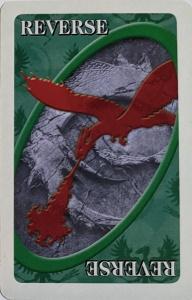 Eragon Green Uno Reverse Card