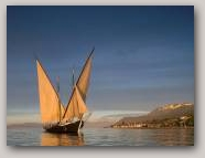 La Savoie - Traditional Barge for Transporting Building Stone  » Click to zoom ->
