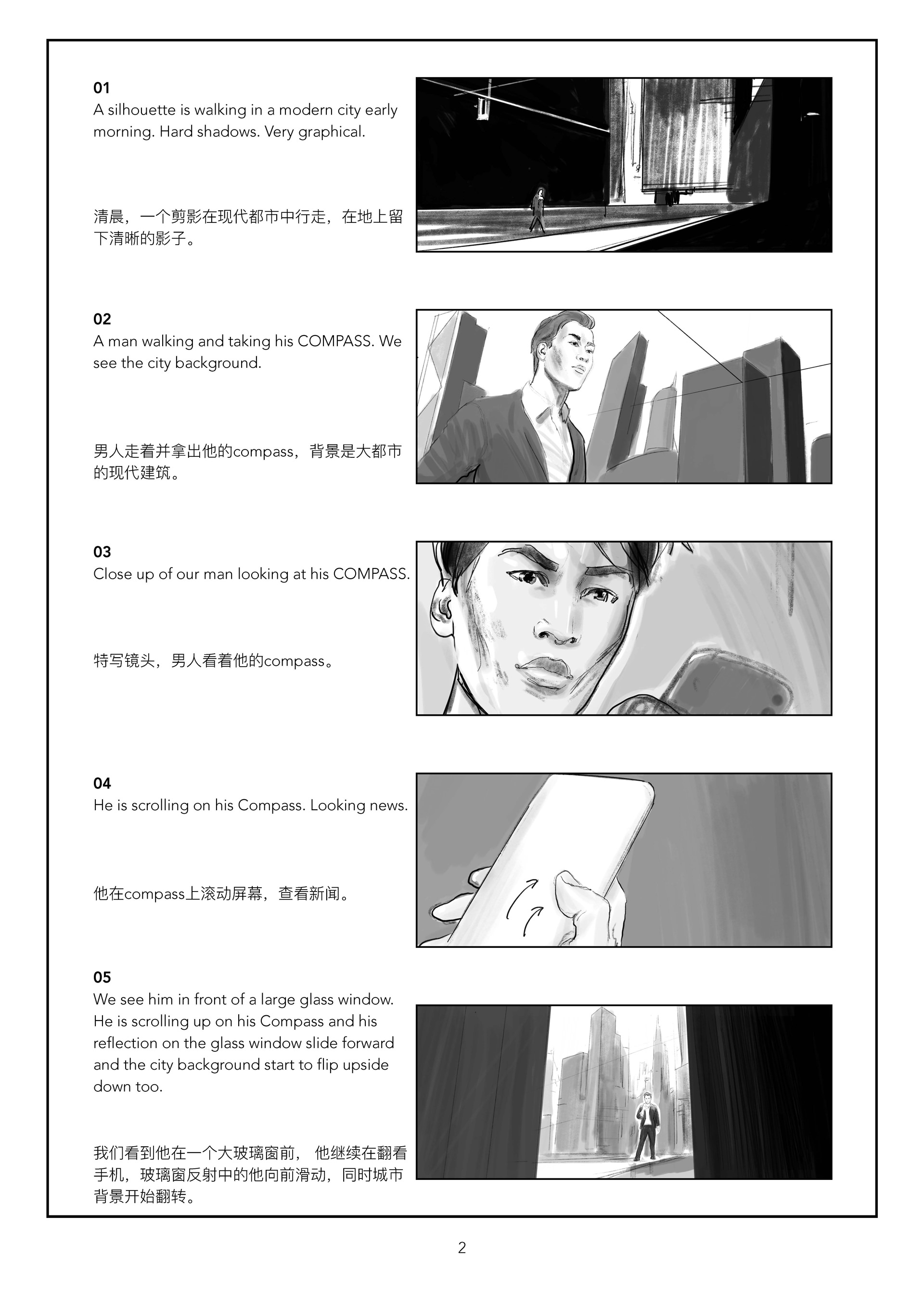 Oppo Compass storyboard 01