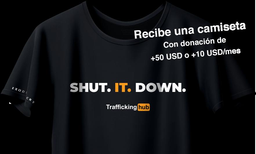 Traffickinghub Shirt