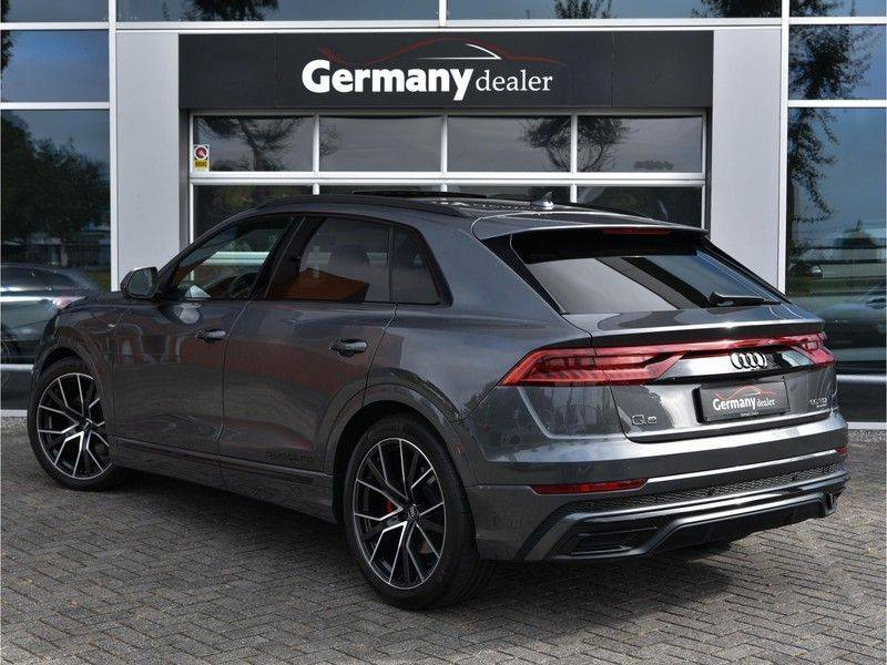 Audi Q8 50TDI 286pk Quattro S-Line Black Optic Lucht RS-Zetels B&O Pano Leder-Dash 22-Inch Soft-Close! afbeelding 15