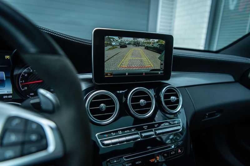 Mercedes-Benz C-Klasse 63 AMG, 476 PK, Pano/Dak, Distronic, Night/Pakket, Burmester, LED, Keyless, 30DKM, Nieuwstaat, BTW!! afbeelding 12