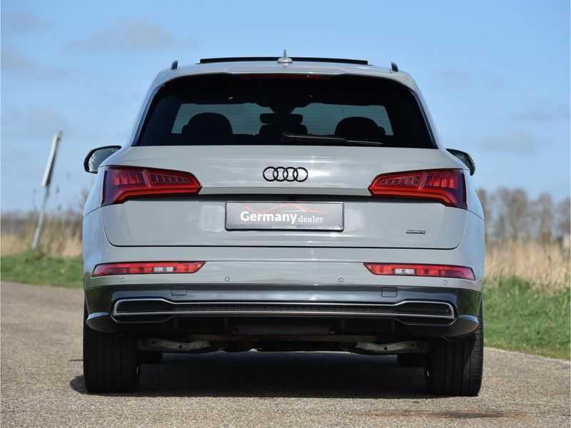 Audi Q5 2.0TFSI 252pk Quattro Black Optic Alle Opties! Lucht Tr.Haak Ruitleder Carbon Matrix Pano 20-Inch afbeelding 10