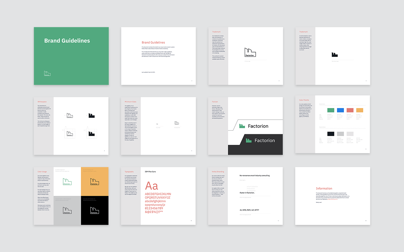 Factorion brand guidelines