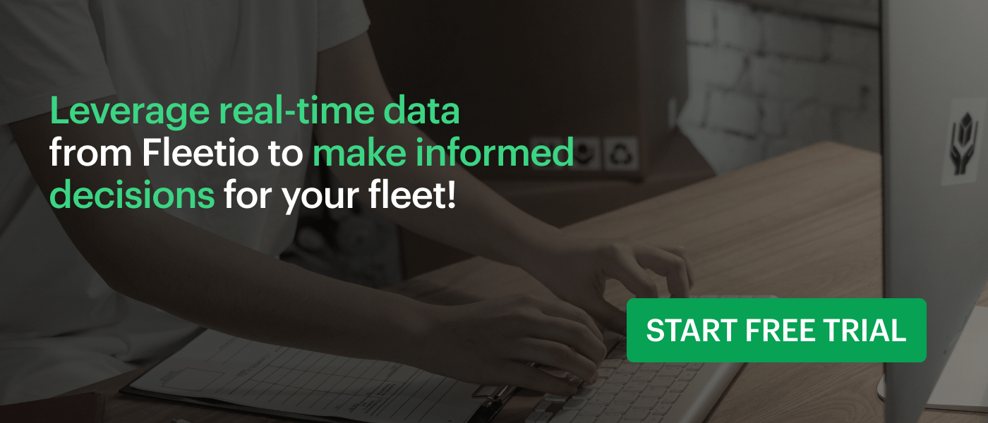 Leverage real-time data from Fleetio to make informed decisions for your fleet! Start free trial.