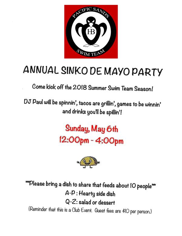 Sinko de Mayo Party 2018