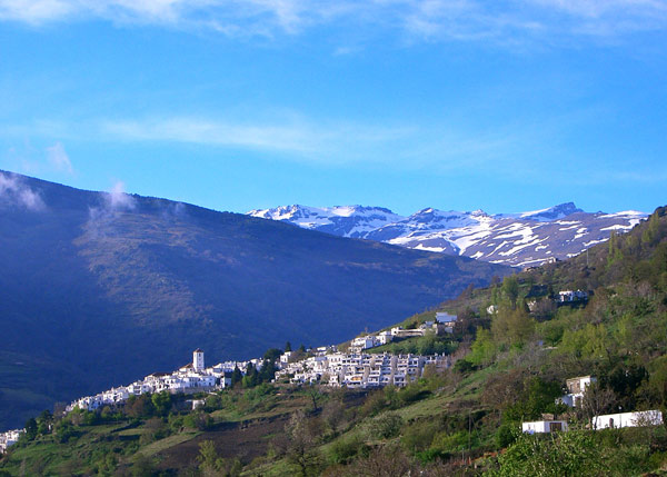 Mountain views from Bubión