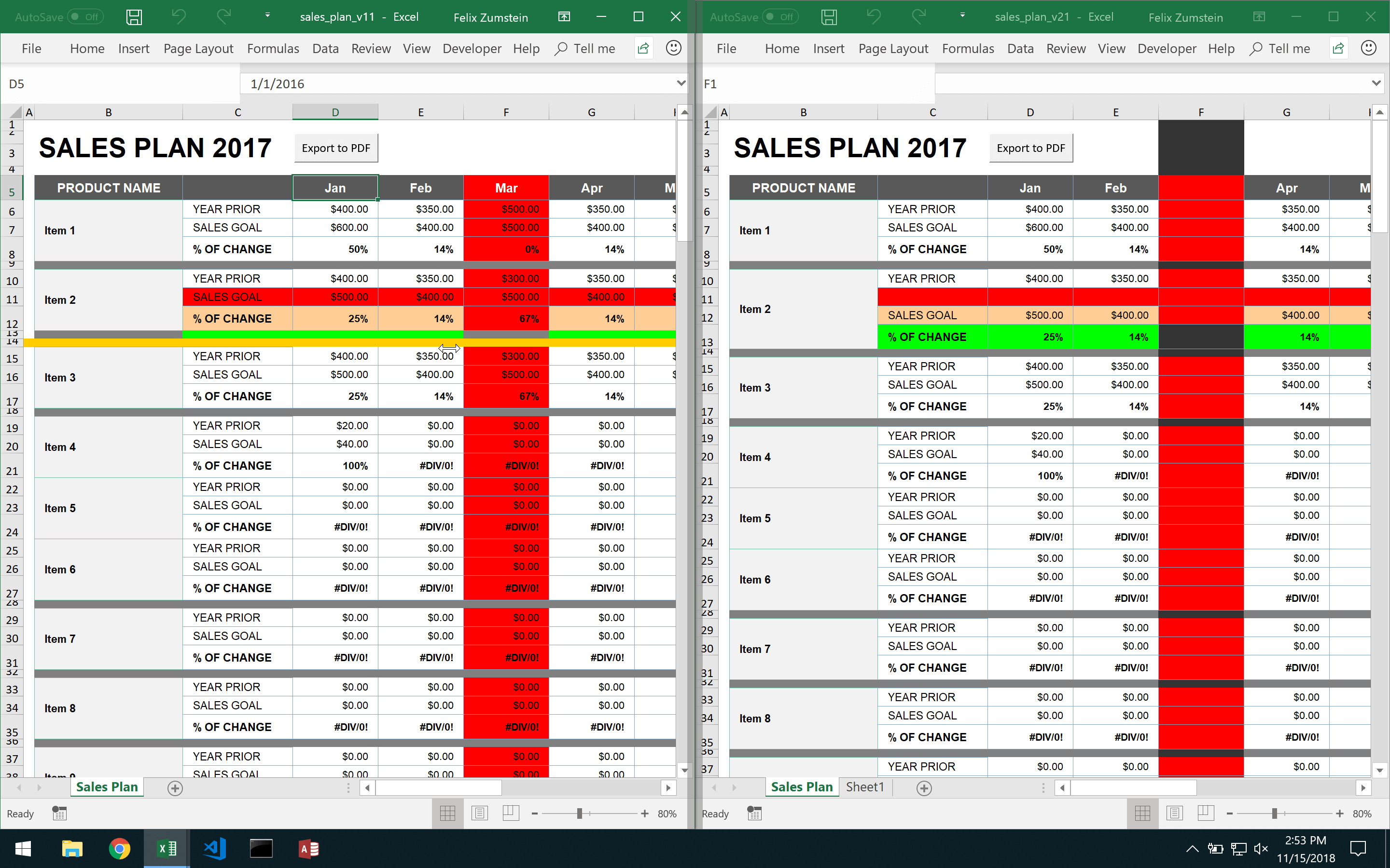 DiffEngineX Diff Sheets Details