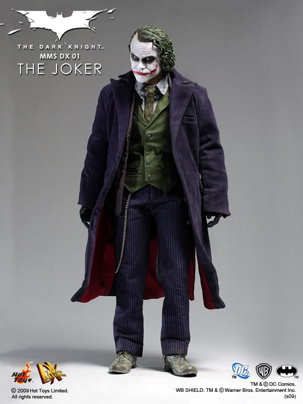 Hot Toys The Dark Knight DX01 The Joker 1/6th Scale Collectible Figure