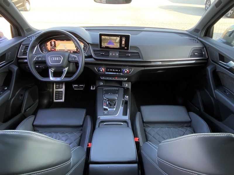 Audi Q5 2.0TFSI 252pk Quattro Black Optic Alle Opties! Lucht Tr.Haak Ruitleder Carbon Matrix Pano 20-Inch afbeelding 21