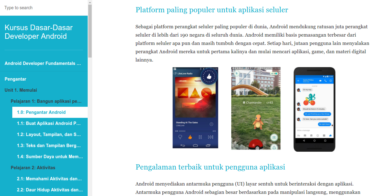 Ebook Teori Pemrograman Android