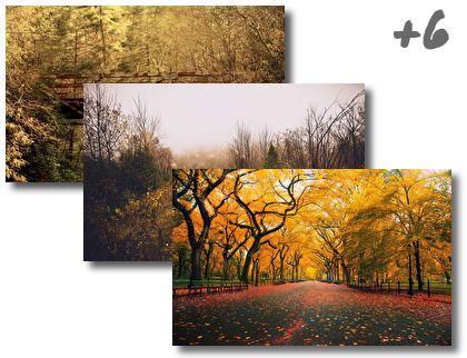 Autumn theme pack