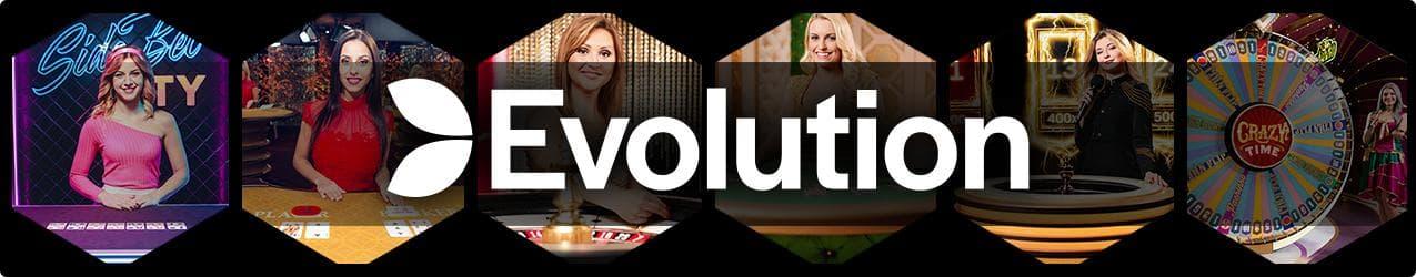 Evolution Gaming Live Casino Banner