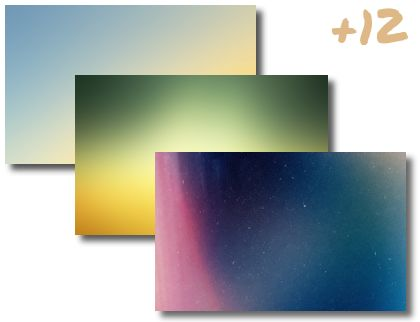 Abstract Gradient theme pack