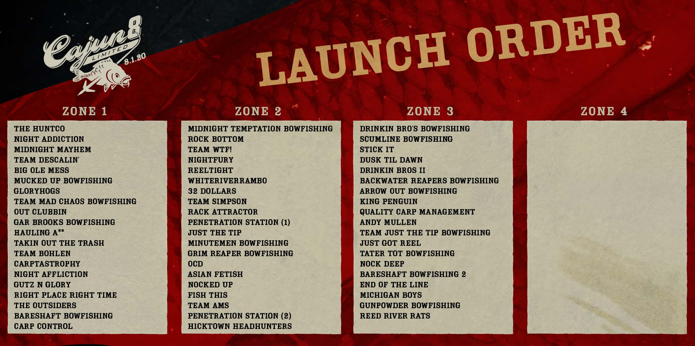 Launch Order