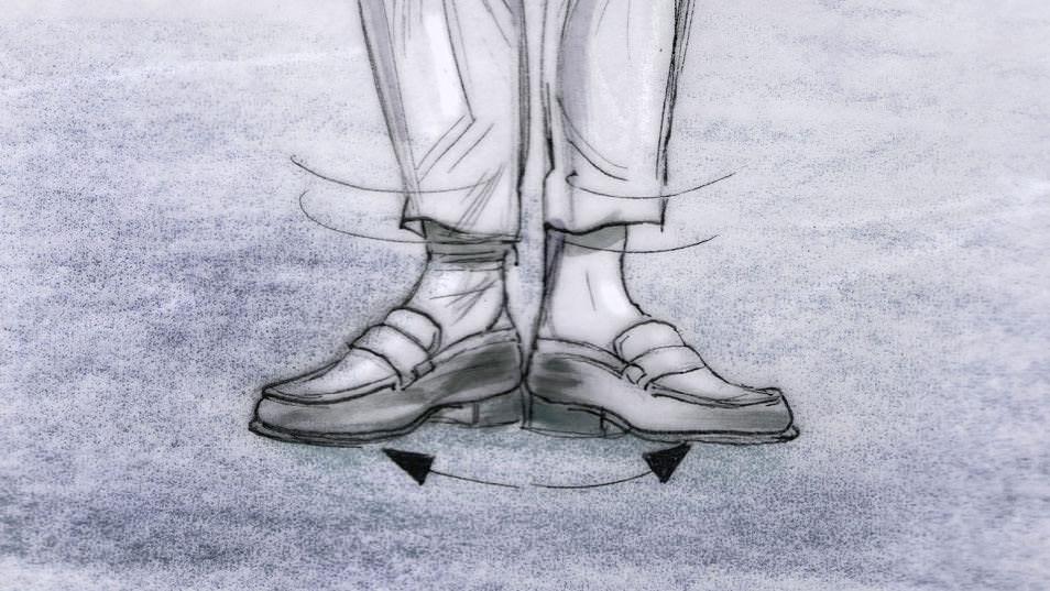 Dancing Feet Story branding pitch storyboard 52