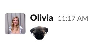 Slack dog emoji