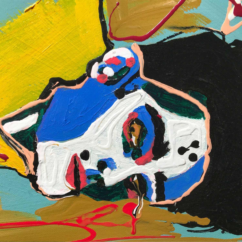 'On The Ground' Original Painting