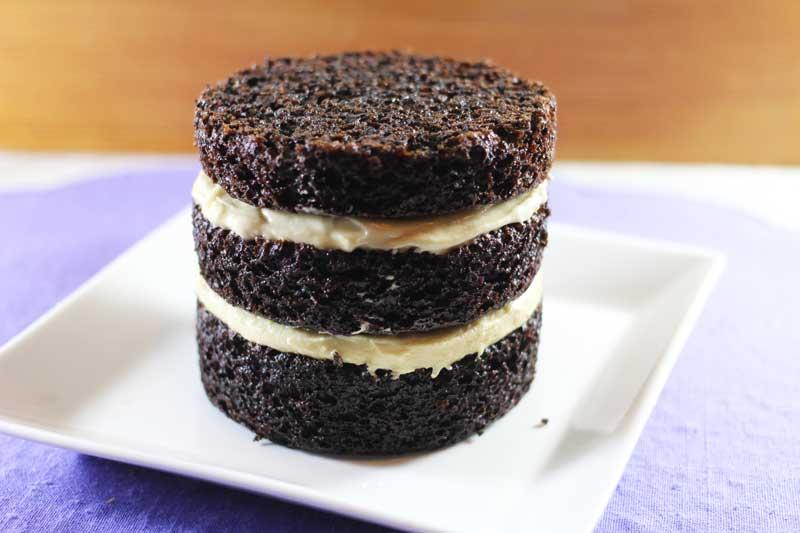 Vegan Indigo Velveteen Cake