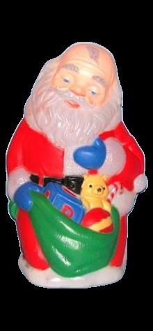 Praying Santa photo