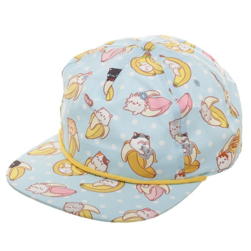 Bananya allover Sublimation Snapback Right Size
