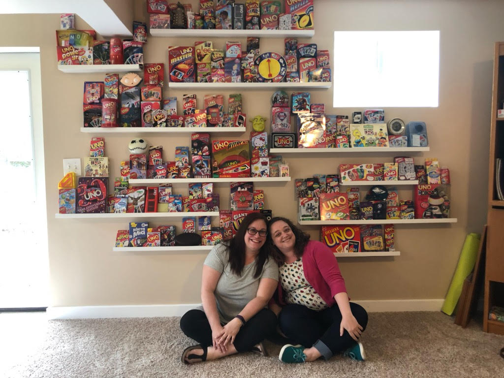 Cousins' Massive Shared UNO Collection