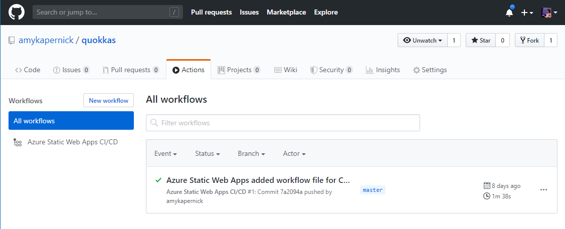 Azure Static Web Apps