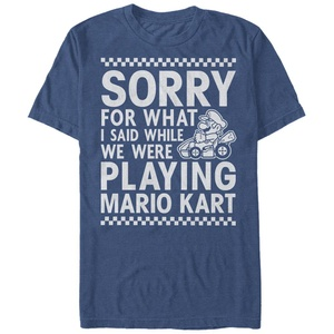 Playing Mariokart T-Shirt