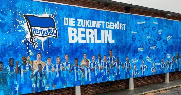 Hertha Berlin poster