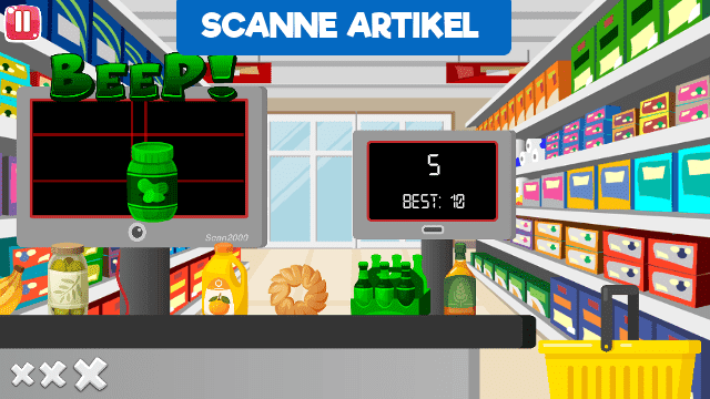 Supermarket Challenge Screenshot