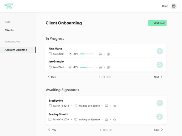 Anvil Dashboard Simplifies Project Management
