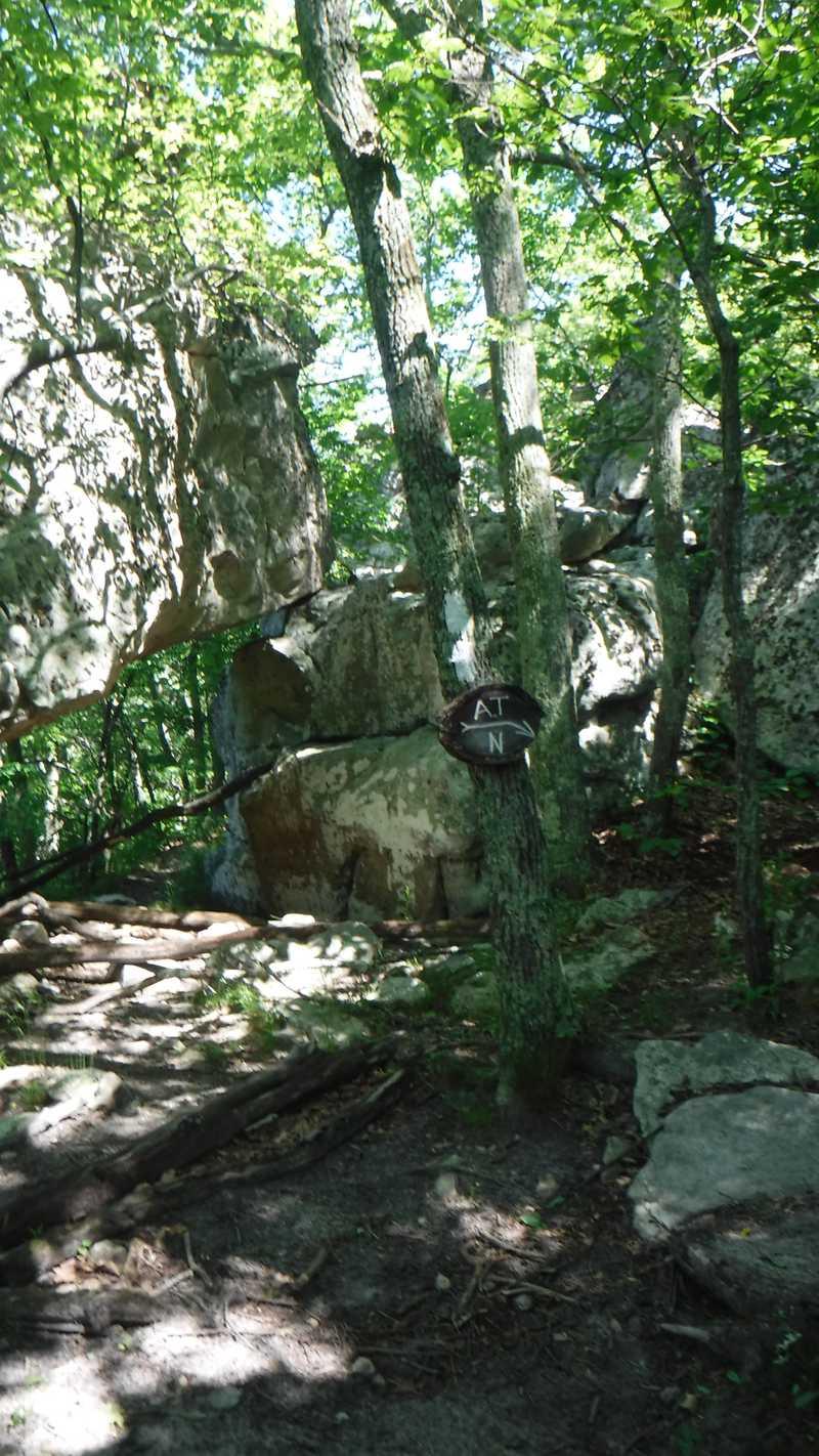 Rocks near Tinker Cliffs