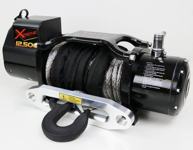 Tuff Stuff Xtreme 12500 Winch, Synthetic TS-12500-XT-SYN 12500 lb winch